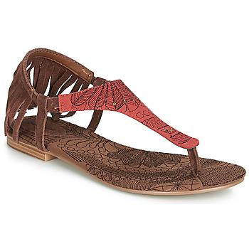 鞋子 女士 凉鞋 Desigual SHOES_LUPITA_LOTTIE 棕色 / 红色