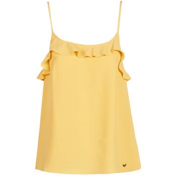 衣服 女士 无领短袖套衫/无袖T恤 LPB Woman AZITAFE 黄色