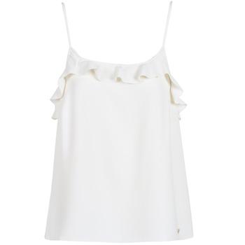 衣服 女士 无领短袖套衫/无袖T恤 Les P'tites Bombes AZITAFE 白色