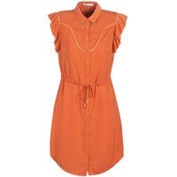 衣服 女士 短裙 LPB Woman AZITARTE 珊瑚色
