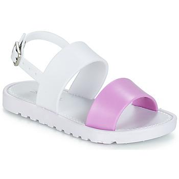 鞋子 女孩 凉鞋 Be Only ELEA 白色 / 玫瑰色