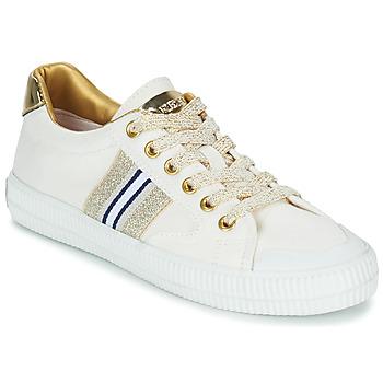 鞋子 女士 球鞋基本款 Replay EXTRA 白色 / 金色