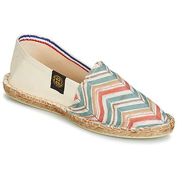 鞋子 女士 帆布便鞋 Art of Soule BOHEME BICOLOR 米色 / 蓝色 / 珊瑚色