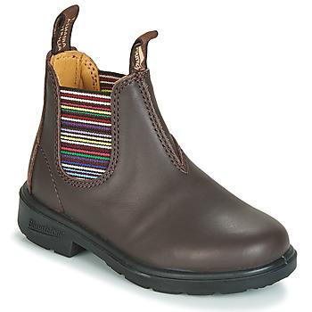 鞋子 儿童 短筒靴 Blundstone KID'S BLUNNIES 棕色