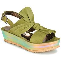 鞋子 女士 凉鞋 Papucei CONDE 绿色