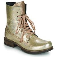 鞋子 女士 短筒靴 Papucei JANET 绿色 / 米色