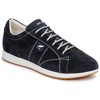 鞋子 女士 球鞋基本款 Geox 健乐士 D AVERY 海蓝色