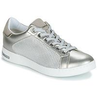 鞋子 女士 球鞋基本款 Geox 健乐士 D JAYSEN 银灰色