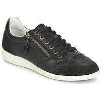 鞋子 女士 球鞋基本款 Geox 健乐士 D MYRIA 黑色