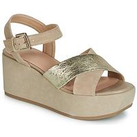 鞋子 女士 凉鞋 Geox 健乐士 D ZERFIE 金色 / 灰褐色