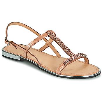 鞋子 女士 凉鞋 Geox 健乐士 D SOZY PLUS 古銅色