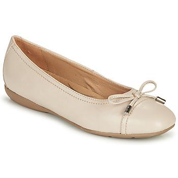 鞋子 女士 平底鞋 Geox 健乐士 D ANNYTAH 灰褐色