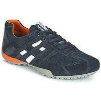 鞋子 男士 球鞋基本款 Geox 健乐士 UOMO SNAKE 海蓝色