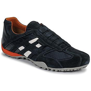 鞋子 男士 球鞋基本款 Geox 健乐士 UOMO SNAKE 蓝色 / 黑色