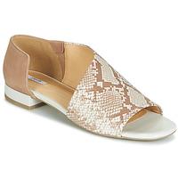 鞋子 女士 凉鞋 Geox 健乐士 D WISTREY SANDALO 米色 / 棕色