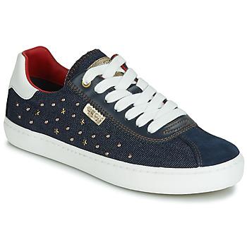 鞋子 女孩 球鞋基本款 Geox 健乐士 J KILWI GIRL 海蓝色