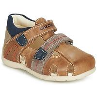 鞋子 男孩 凉鞋 Geox 健乐士 B KAYTAN 棕色