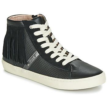 鞋子 女孩 高帮鞋 Geox 健乐士 J KILWI GIRL 黑色