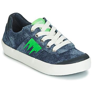 鞋子 男孩 球鞋基本款 Geox 健乐士 J KILWI BOY 蓝色 / 绿色