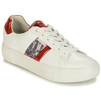 鞋子 女士 球鞋基本款 Refresh 69954 白色 / 红色