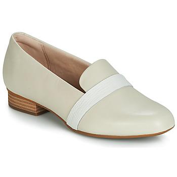 鞋子 女士 平底鞋 Clarks 其乐 JULIET ARIEL 米色