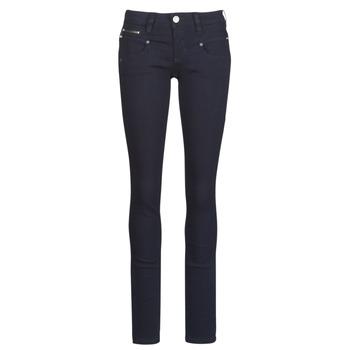 衣服 女士 緊身牛仔褲 Freeman T.Porter Alexa Slim S-SDM 海藍色 / Fonce
