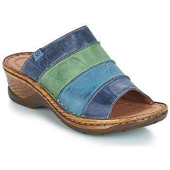 鞋子 女士 休闲凉拖/沙滩鞋 Josef Seibel CATALONIA 64 蓝色