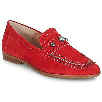 鞋子 女士 皮便鞋 Dorking 7782 红色