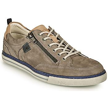 鞋子 男士 球鞋基本款 Fluchos 富乐驰 QUEBEC 灰色