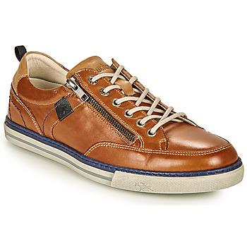 鞋子 男士 球鞋基本款 Fluchos 富乐驰 QUEBEC 棕色