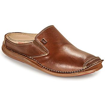 鞋子 男士 平底鞋 Fluchos 富乐驰 NAUTILUS 棕色