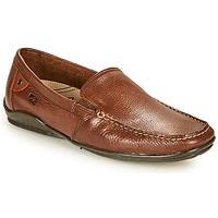 鞋子 男士 皮便鞋 Fluchos 富乐驰 BALTICO 棕色