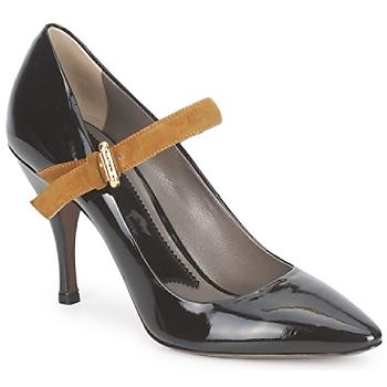 鞋子 女士 高跟鞋 Etro 艾特罗 SHIRLEY 黑色-芥末黃