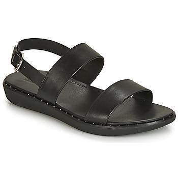鞋子 女士 涼鞋 FitFlop BARRA 黑色
