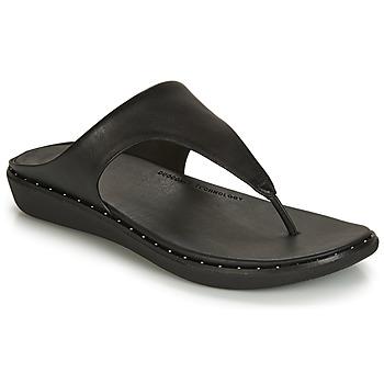鞋子 女士 人字拖 FitFlop BANDA II 黑色