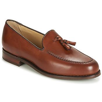 鞋子 男士 皮便鞋 Barker STUDLAND 棕色