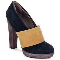 鞋子 女士 高跟鞋 Kallisté BOTTINE 5854 灰色-芥末色