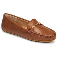 鞋子 女士 皮便鞋 Lauren Ralph Lauren BRIONY 棕色
