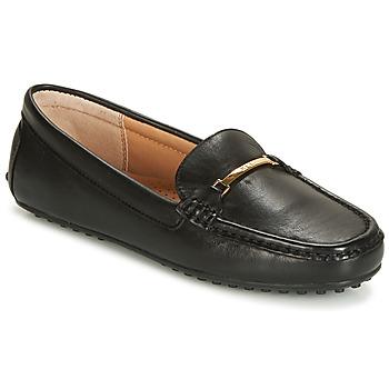 鞋子 女士 皮便鞋 Lauren Ralph Lauren BRIONY 黑色