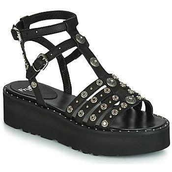 鞋子 女士 凉鞋 Fru.it 5433-476 黑色