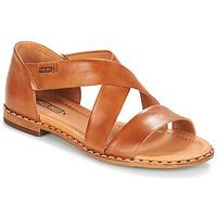 鞋子 女士 凉鞋 Pikolinos 派高雁 ALGAR W0X 驼色