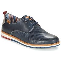 鞋子 男士 德比 Pikolinos 派高雁 BERNA M8J 蓝色