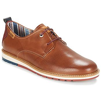 鞋子 男士 德比 Pikolinos 派高雁 BERNA M8J 驼色