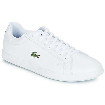 鞋子 男士 球鞋基本款 Lacoste GRADUATE BL 1 白色