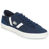 鞋子 男士 球鞋基本款 Lacoste SIDELINE 119 1 海蓝色 / 白色