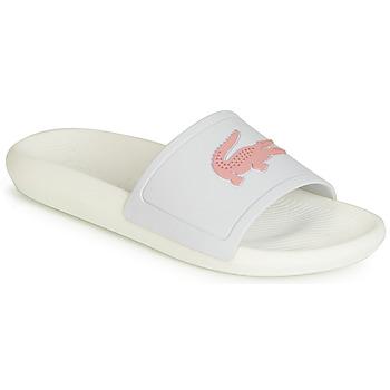鞋子 女士 拖鞋 Lacoste CROCO SLIDE 119 3 白色 / 玫瑰色