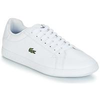 鞋子 女士 球鞋基本款 Lacoste GRADUATE BL 1 白色