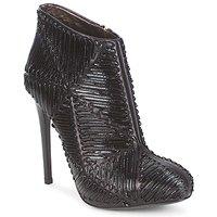鞋子 女士 短靴 Roberto Cavalli 罗伯特·卡沃利 QPS566-PN018 黑色