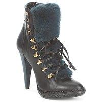 鞋子 女士 短靴 Roberto Cavalli 罗伯特·卡沃利 QPS583-PZ260 棕色