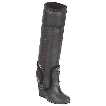 鞋子 女士 都市靴 Roberto Cavalli 罗伯特·卡沃利 QDS598-PJ007 黑色